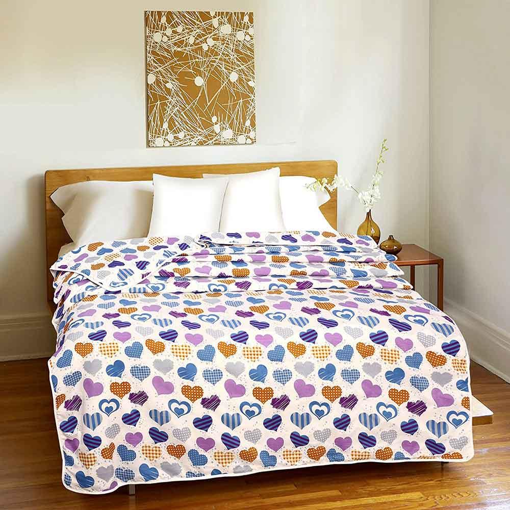 DIVINE CASA Single Polyester Printed Dohar – Multi