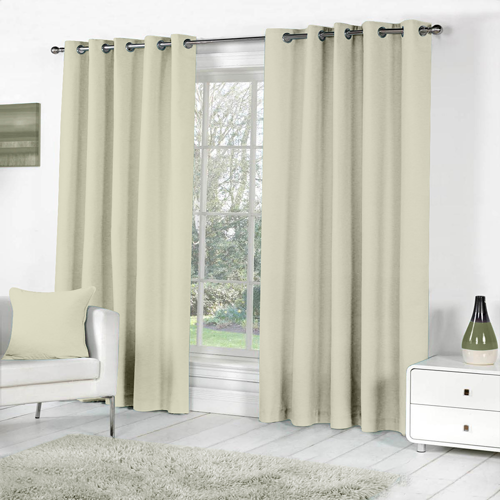 Curl Up Blackout Curtains Panel for Door Room Darkeing – Thermal Insulated Rod Pocket Blackout Drapes/Panels/Draperies for Living Room Blackout Curtain 1 Panel (W47 x L84 – inch, Medium Brown)