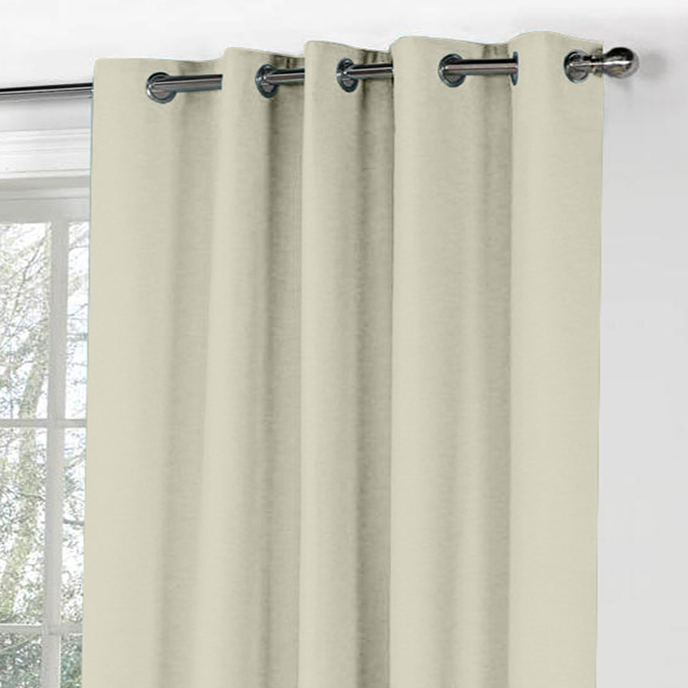 Curl Up Blackout Curtains Panel For Door Room Darkeing Thermal